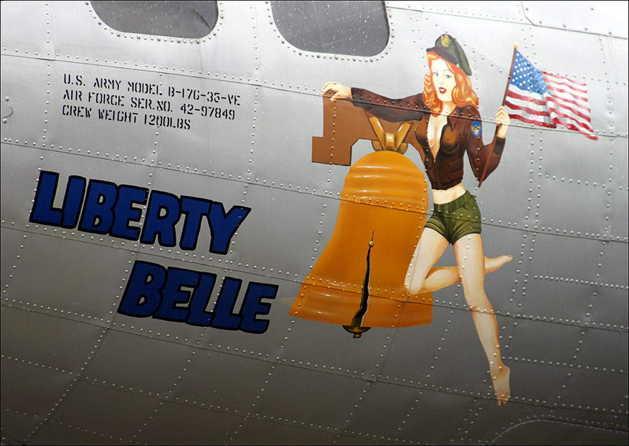 Inspiration: Aircraft Nose Art | Fieldey Art