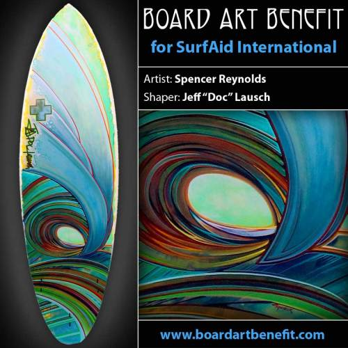 Board Art Benefit Surf Art