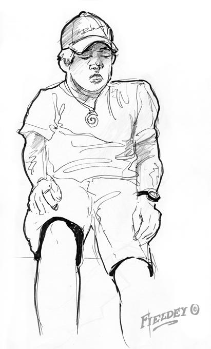 Matthew Fieldes Sketch