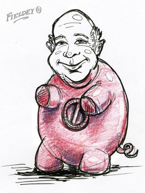 Piggy Bank man