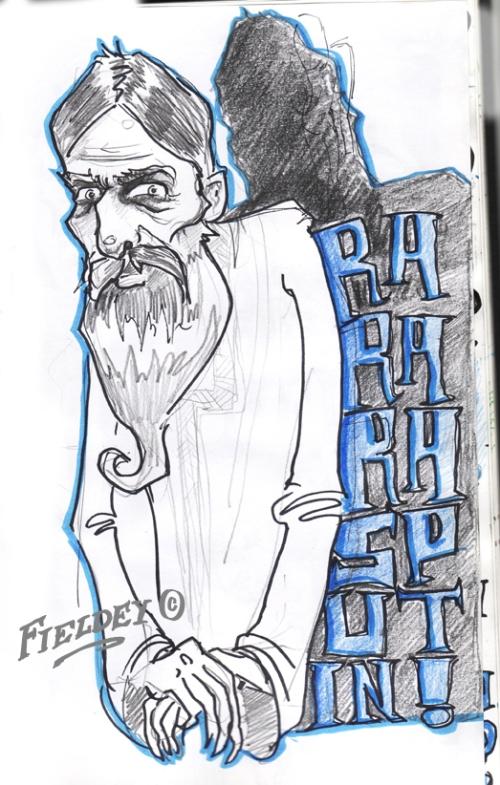 Ra Ra Rasputine sketch