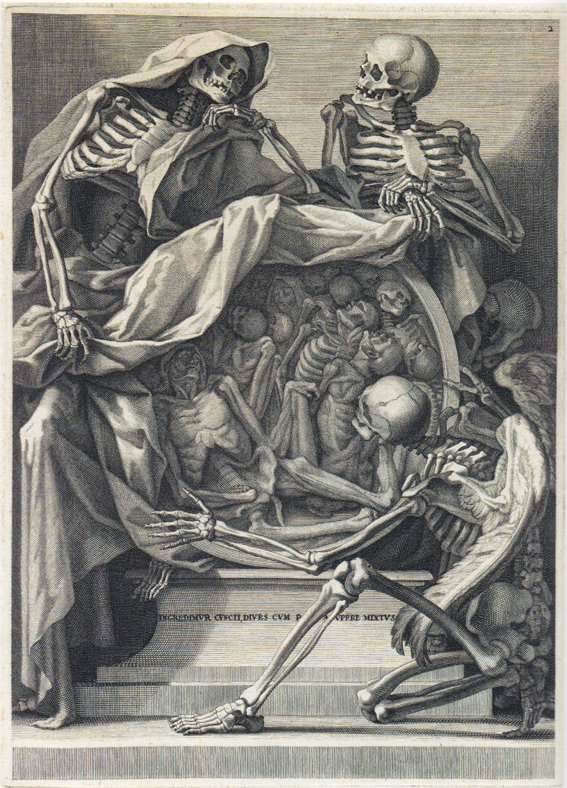 Inspirational Friday: Beautiful death ~ renaissance anatomy etchings ...