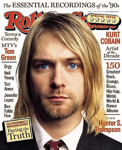 Kurt Cobain Rolling Stone Cover