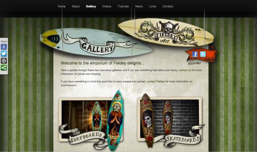 Fieldey Gallery page