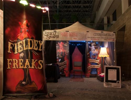 Fieldey's Freakshow photobooth