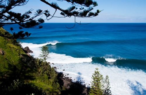 Matt Fieldes Photography Norfolk Island Surfing
