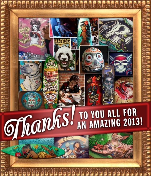 Thank you all for the most amazing 2013!!