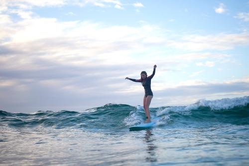 Surfing at Bondi