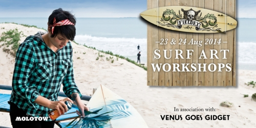 Bondi Surfboard Painting Workshops with Fieldey