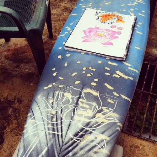 Perth Surfboard Art Workshop at Balcatta Senior High
