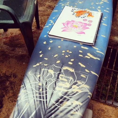 Perth Surfboard Art Workshop at Balcatta Senior High