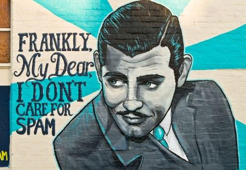 Clark Gable Mural