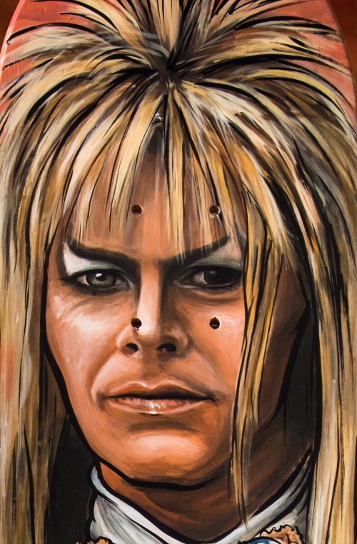 David Bowie as Jareth, the Goblin King from The Labyrinth